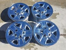 toyota tundra chrome rims in fair condition set of 4