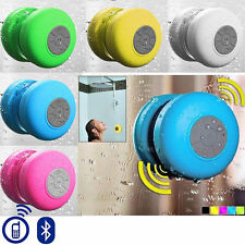 Portable Waterproof Speakers & Suction Cup For Toshiba Excite AT200