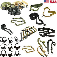 Tactical Strap Sling Plate Adapter Quick Release Detach Attachment Point