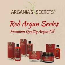 Premium Quality Red Argan Oil Argania's Secrets For Thick Hair Care Set