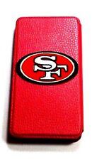 Woodys Originals Inc. San Francisco 49ers Leather Sports Team Cell Phone Cases