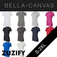 Bella + Canvas Ladies Junior Fit Made in the USA Favorite T-Shirt. 6004U