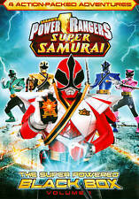 POWER RANGERS SUPER SAMURAI THE SUPER POWERED BLACK BOX ... NEW IN BOX!