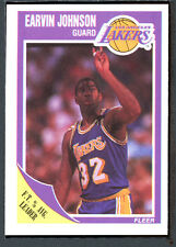 1989 Fleer Basketball #77 Magic Johnson NM-MT 91966