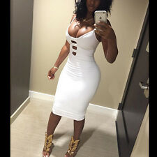 New Sexy Women's Summer Bandage Bodycon Evening Party Cocktail Short Mini Dress