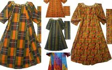 African Black History Month New Style Women Clothing Kente Dress with head piece