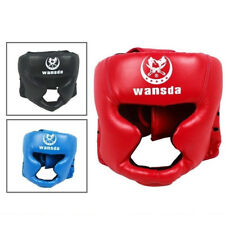 NEW MMA Headgear Kick Boxing Workout Head Guard Face Safety Protection Helmet