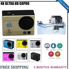 4K Ultra-HD 1080P 16MP Waterproof Sport HDMI Action Camera Video Camcorder 2''