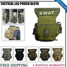 SWAT Multi-Purpose Tactics CST Pack Pouch Leg Drop Utility Bag Holster Fishing