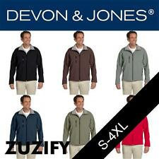 Devon & Jones Mens Soft Shell Jacket. D995