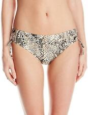 Calvin Klein Animal Print Side Shirred Bikini Bottom Size S XL CK32