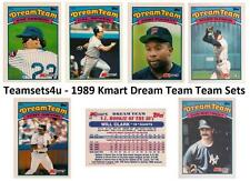 1989 Kmart Dream Team Baseball Set ** Pick Your Team **