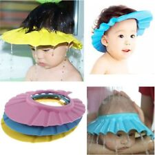 New Baby Kids Shampoo Wash Hair Shield Hat Shower Cap Bathing