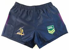 MELBOURNE STORM NRL 2017 CLASSIC SPORTSWEAR KIDS YOUTH SUPPORTER SHORTS