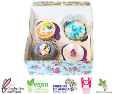 Bath Bomb Gift Set, 4 Lush Highly Scented- Luxury boxed Pamper Handmade Gifts