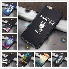Cute Funny Joke Quotes Hard Back Case Skin Cover For Apple iPhone 5/5S/6/6S Plus