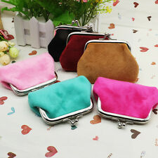 Womens Ladies Small Coin Purse Mini Pouch Wallet Bag Key Card Holder Case