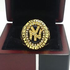 1998 New York Yankees World Series Championship Solid Alloy Ring 11Size Gift
