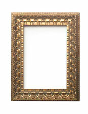 Wide Antique Classic swept Picture frame photo frame Gold Distressed