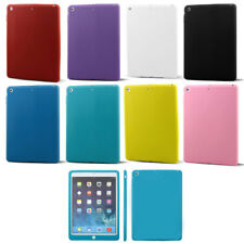 Rubber Skin Back Cover Protective Case for Apple iPad Air iPad 5