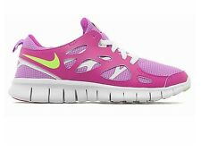 NIKE FREE RUN 2 GIRLS WOMENS TRAINERS UK SIZE 5 EU 38 PINK WHITE ROSHE AIR MAX