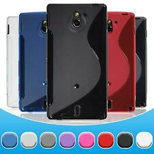 Sony Xperia sola TPU Case Cover S-Style + protective foils