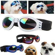 Small Pet Dog Goggles UV Sunglasses Sun Glasses Glasses Eye Wear Protection FS