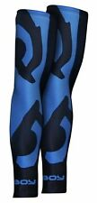 Bad Boy Sphere Compression Sleeves Black Blue Rash Guard No Gi MMA Gym