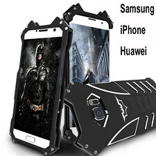 Batman Shockproof Aluminum Metal Case Cover For iPhone 6 7 Samsung Huawei Phone