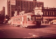 Duplicate Slide of CTA #160 Chicago, IL   1950s