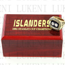 1981 New York Islanders Stanley Cup Hockey Championship Solid Ring 10-13Size