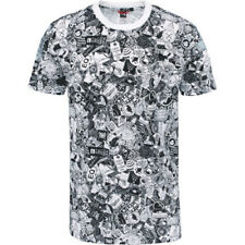North Face Simple Dome Mens T-shirt - Tnf White Sticker Bomb Print All Sizes