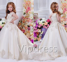 New Bridesmaid Wedding Flower Girl Communion Party Prom Princess Pageant Dresses