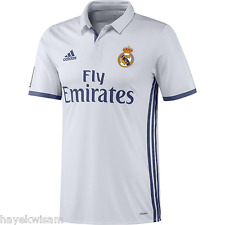 New Authentic Adidas Real Madrid Home Jersey 2016-17 With Player Name/Number