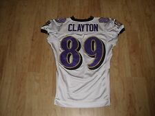 Mark Clayton Baltimore Ravens Practice Game Used Worn Jersey
