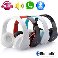 Foldable Bluetooth Wireless Headset Headphone For iPhone Samsung Mobile phone PC