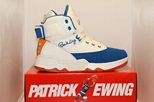 Mens Ewing Athletics Patrick Ewing 33 HI 50 GREATEST PLAYERS Cream/Blue/Orange