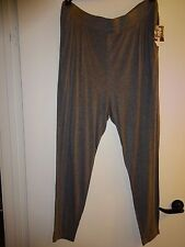 New Plus Size 2X & 3X Heather Gray Jogger Pants by Jessica Simpson