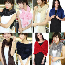 WOMEN'S CHIC MULTIFUNCTIONAL SOFT WARM SHAWL TIPPET NECKERCHIEF SCARF LOVELY