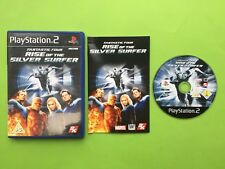 Fantastic 4 Four Rise of the Silver Surfer Playstation 2 PS2 PAL Game