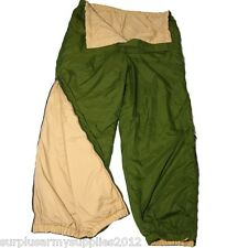 BRITISH ARMY SOFTIE TROUSERS & STUFFSACK REVERSIBLE THERMAL LIGHTWEIGHT CADET