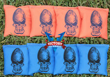 Custom Skull Ver 2 Cornhole Bag Set (all Weather)