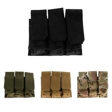 Military Magazine Pouches Triple Bag Flashlight Sheath Hunting Molle Pouch