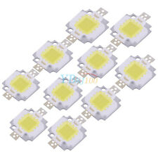 10PCS 10W Cool/Warm White High Power SMD Chip Lamp Beads DC 9-12V For Floodlight