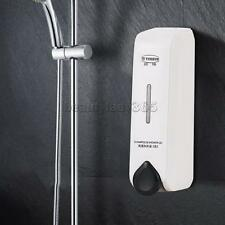 MagiDeal Wall Mounted Soap Shampoo Shower Lotion Holder Pump Action Dispenser