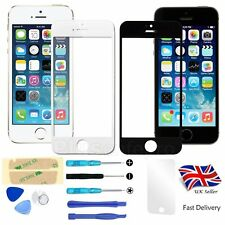 White Black Front Outer Screen Glass Lens Replacement For Apple iPhone 5/5S Tool