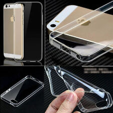 New Ultra Thin Silicone Gel Slim Rubber Case Compatible Iphone5/5s {fu212