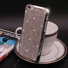 Bling Swarovski Element Crystal Diamond Silver Soft case For iphone 6 6s {e207