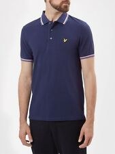 Lyle And Scott Mens Tipped Polo SP401V-Navy