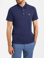 Lyle And Scott Mens Ottoman Stitch Polo SP618V-Navy